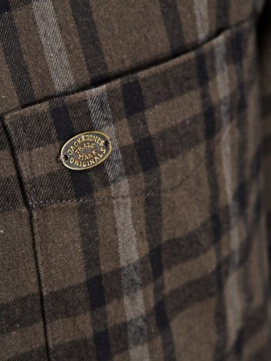 Jack & Jones Long Fit Flanell- Freizeithemd