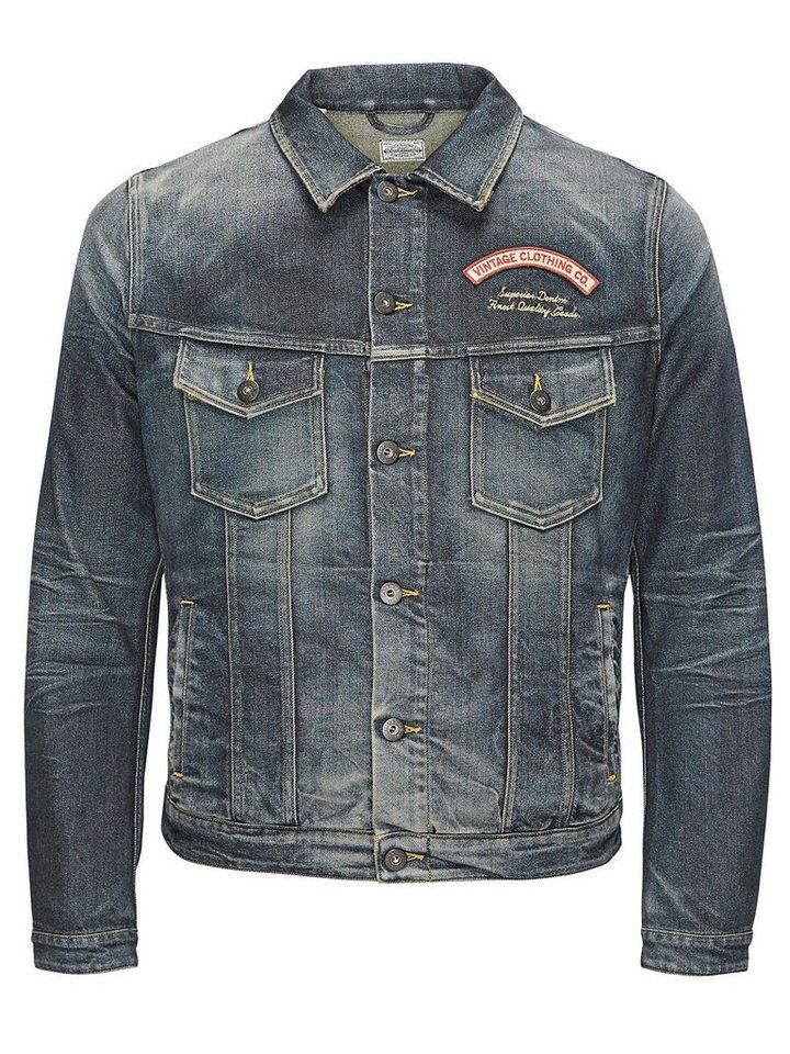 jack jones vintage jeansjacke online kaufen otto. Black Bedroom Furniture Sets. Home Design Ideas