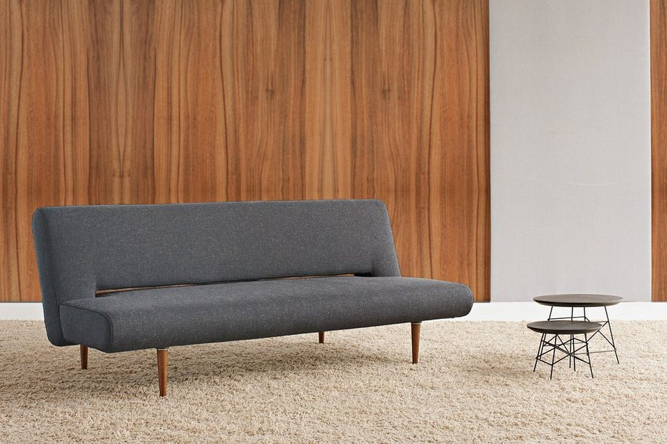 Innovation schlafsofa unfurl im scandinavian design for Schlafsofa ohne armlehne