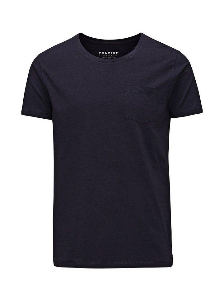 Jack & Jones Hohe Qualität, Baumwolle T-Shirt in Dark Navy 2