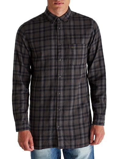 Jack & Jones Long Fit Flanell- Freizeithemd