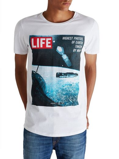 Jack & Jones Life-Print Slim Fit- T-Shirt