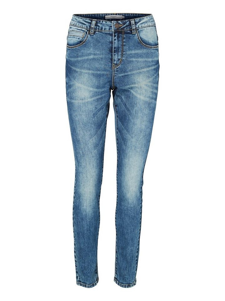 Vero Moda Maxi LW Loose fit jeans in Dark Blue Denim