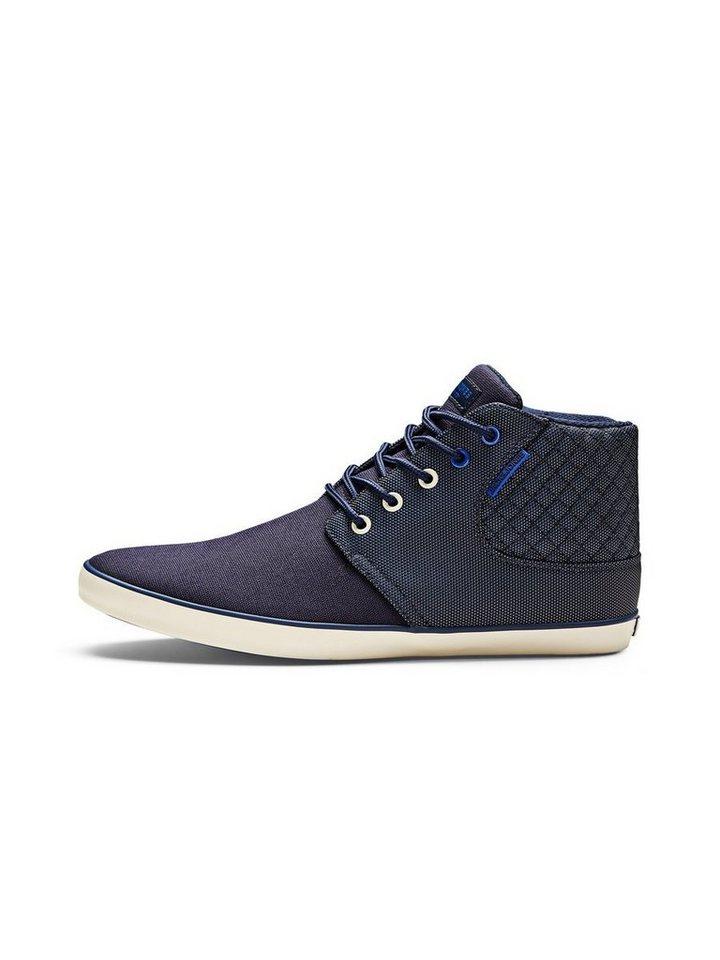 Jack & Jones High-Top- Sneakers in Navy Blazer