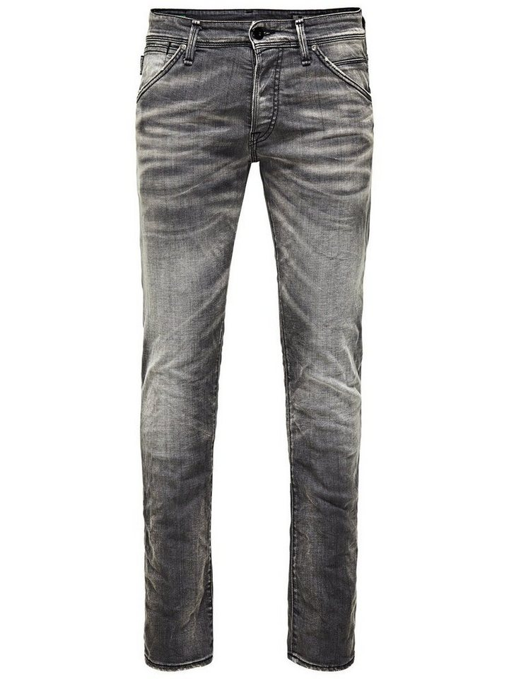 Jack & Jones Glenn Fox BL 499 Slim Fit Jeans in Blue Denim