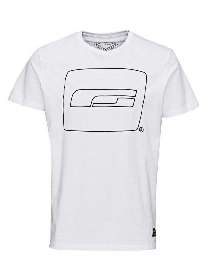 Jack & Jones Einfaches Regular Fit- T-Shirt in White