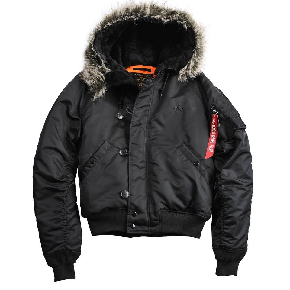 ALPHA INDUSTRIES Jacke »N2B VF 59« in black