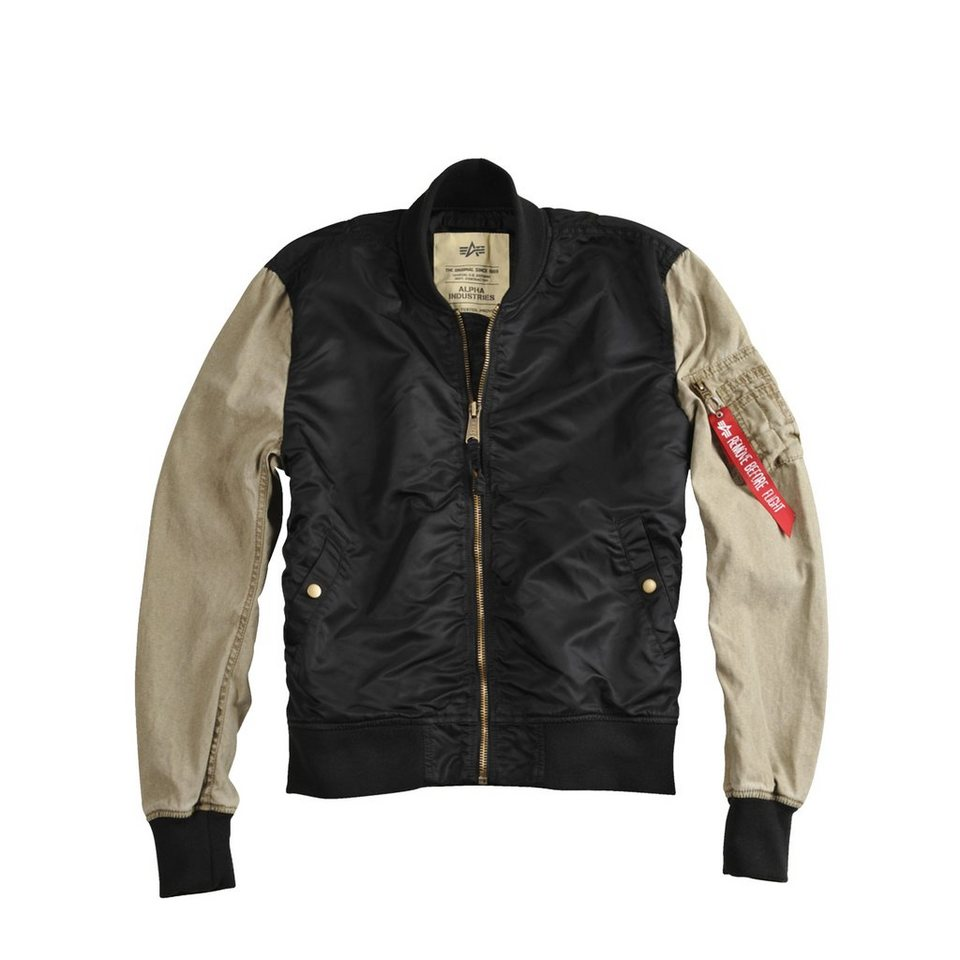 ALPHA INDUSTRIES Jacke »MA-1 Blend« in black