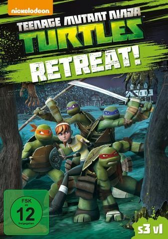 DVD »Teenage Mutant Ninja Turtles - Retreat!«