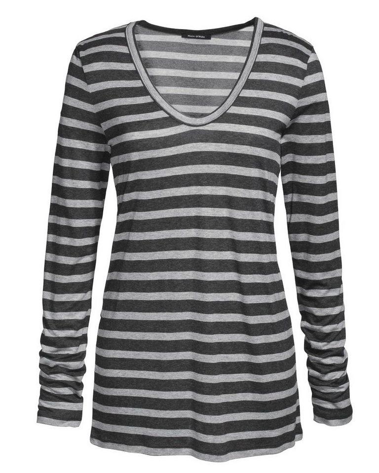 marc o 39 polo viskose shirt online kaufen otto. Black Bedroom Furniture Sets. Home Design Ideas