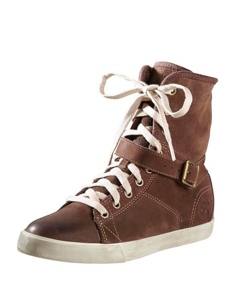 TIMBERLAND Sneaker in Schoko