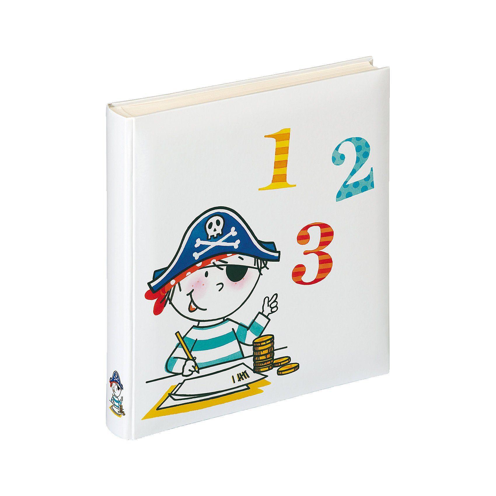 walther Kinderalbum Pirat 123, 50 Seiten
