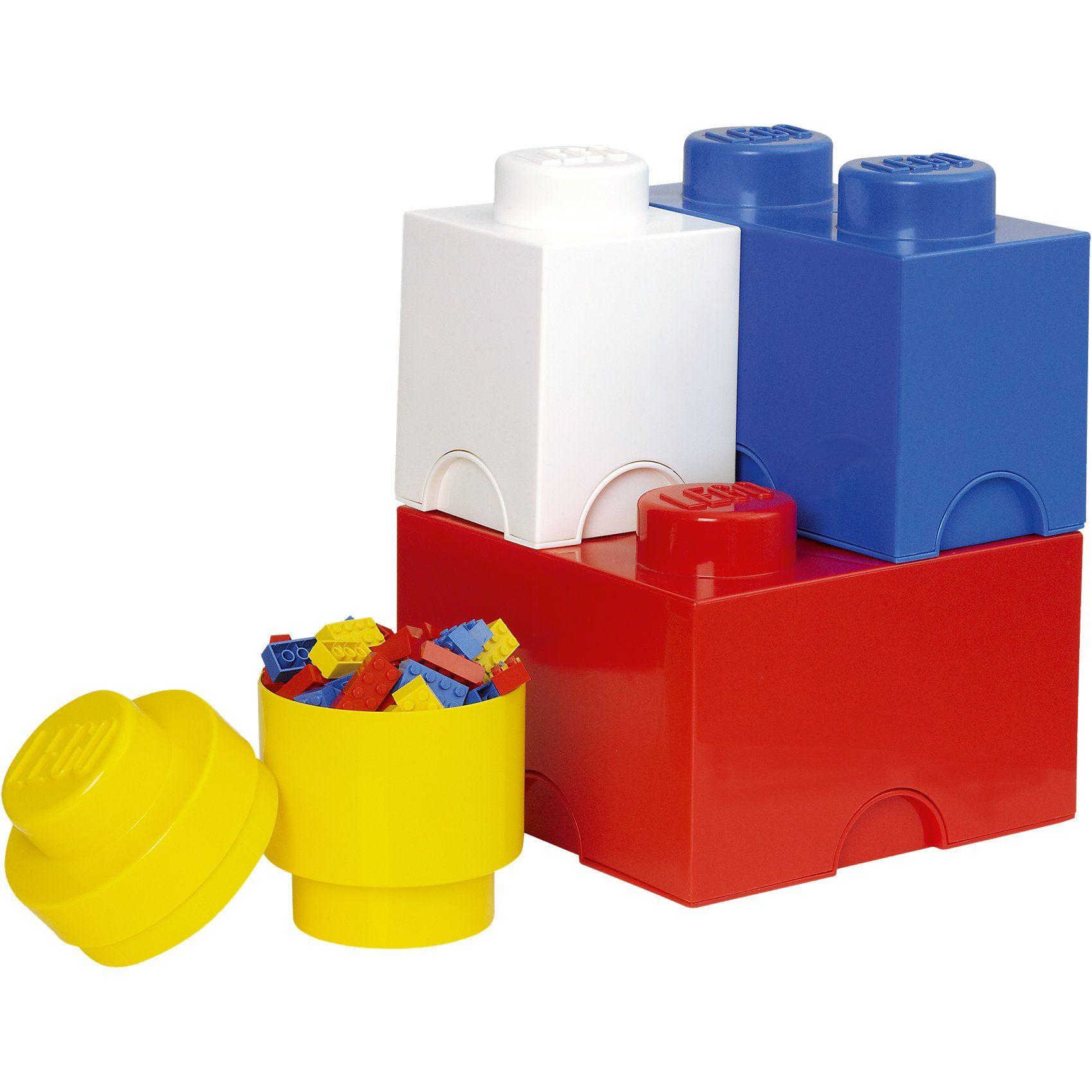 LEGO Storage Brick 4er-Pack