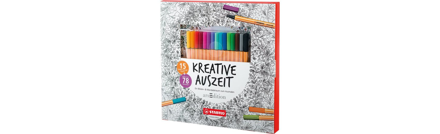 Stabilo Malset Kreative Auszeit ltd. Edition, inkl. point 88 Finelin