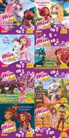 Broschiertes Buch »Pixi-Bundle 8er Serie 232: Mia and me«