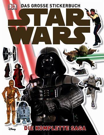 Broschiertes Buch »Star Wars(TM) Das große Stickerbuch«