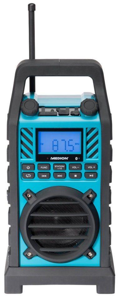 MEDION® Outdoorradio »LIFE® E66263 (MD 84518)« in blau