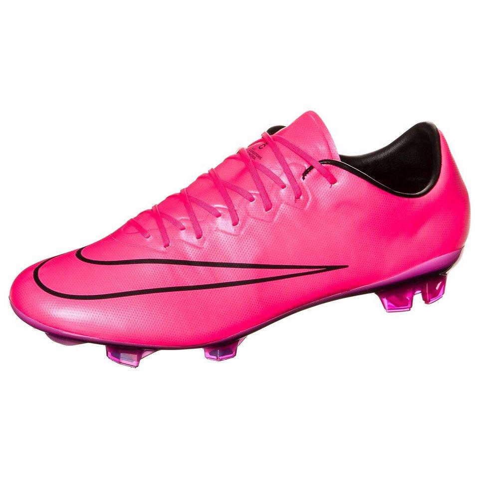 NIKE Mercurial Vapor X FG Fußballschuh Herren in pink / schwarz