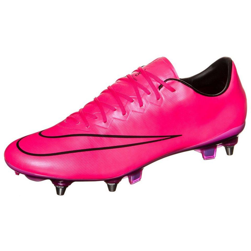 NIKE Mercurial Vapor X SG-PRO Fußballschuh Herren in pink / schwarz