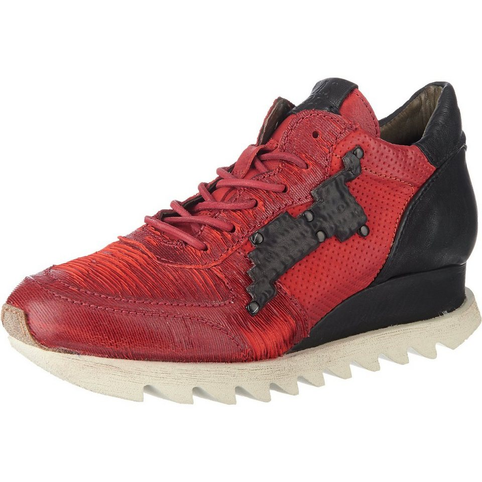 A.S.98 Sneakers in rot