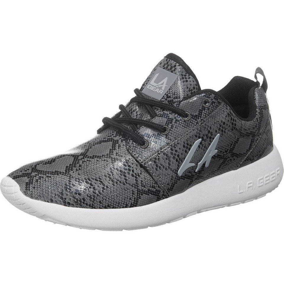 LA Gear Sunrise Sneakers in snake