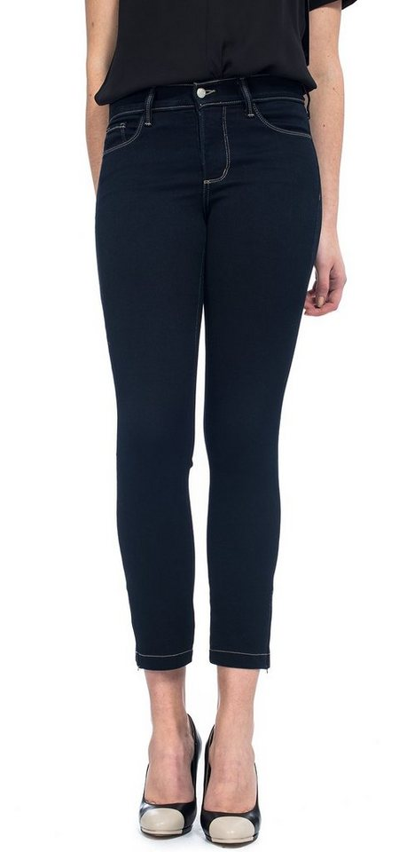 NYDJ Ankle Jeans in Marine Blue