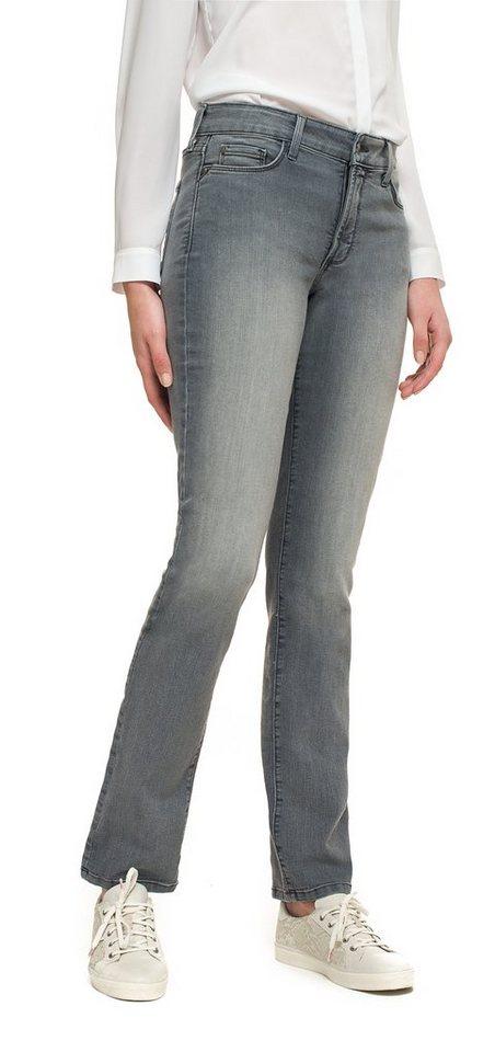 NYDJ Samantha Slim Jeans in Grey Denim