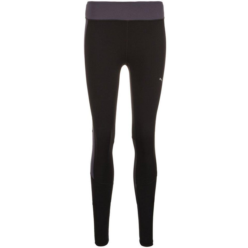 PUMA CoolCell Trainingstight Damen in schwarz / anthrazit