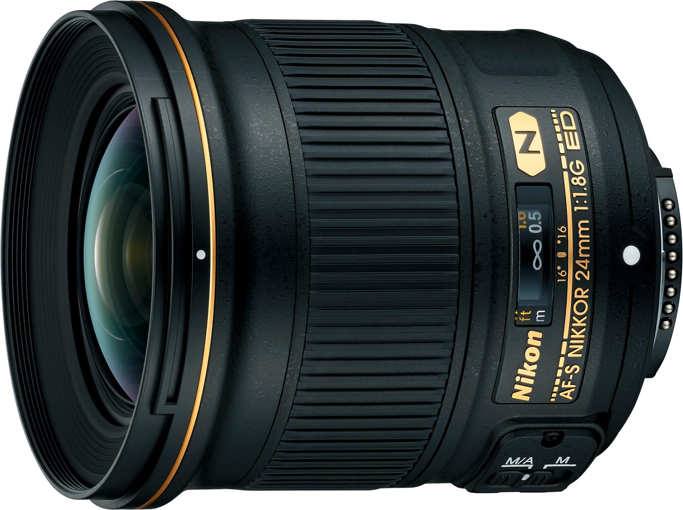 Nikon AF-S NIKKOR 24mm 1:1.8G ED Weitwinkel Objektiv