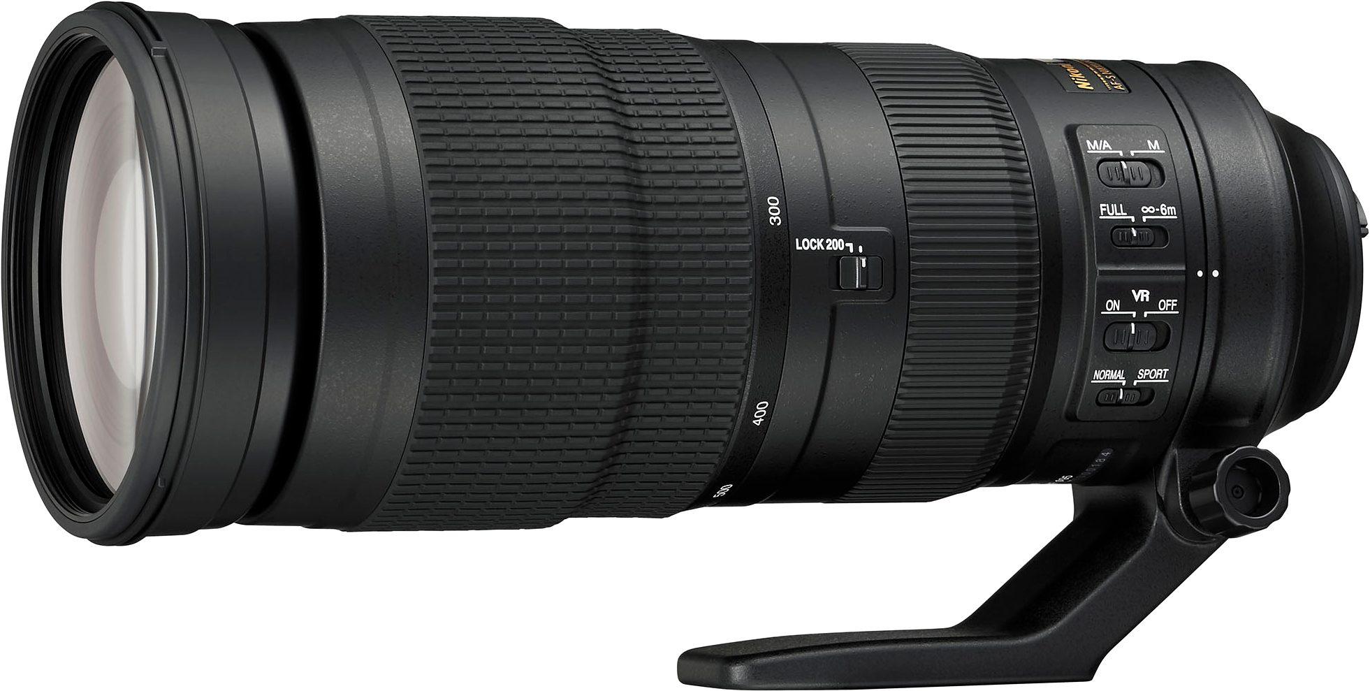 Nikon AF-S NIKKOR 200-500mm 1:5.6E ED VR Supertele Objektiv