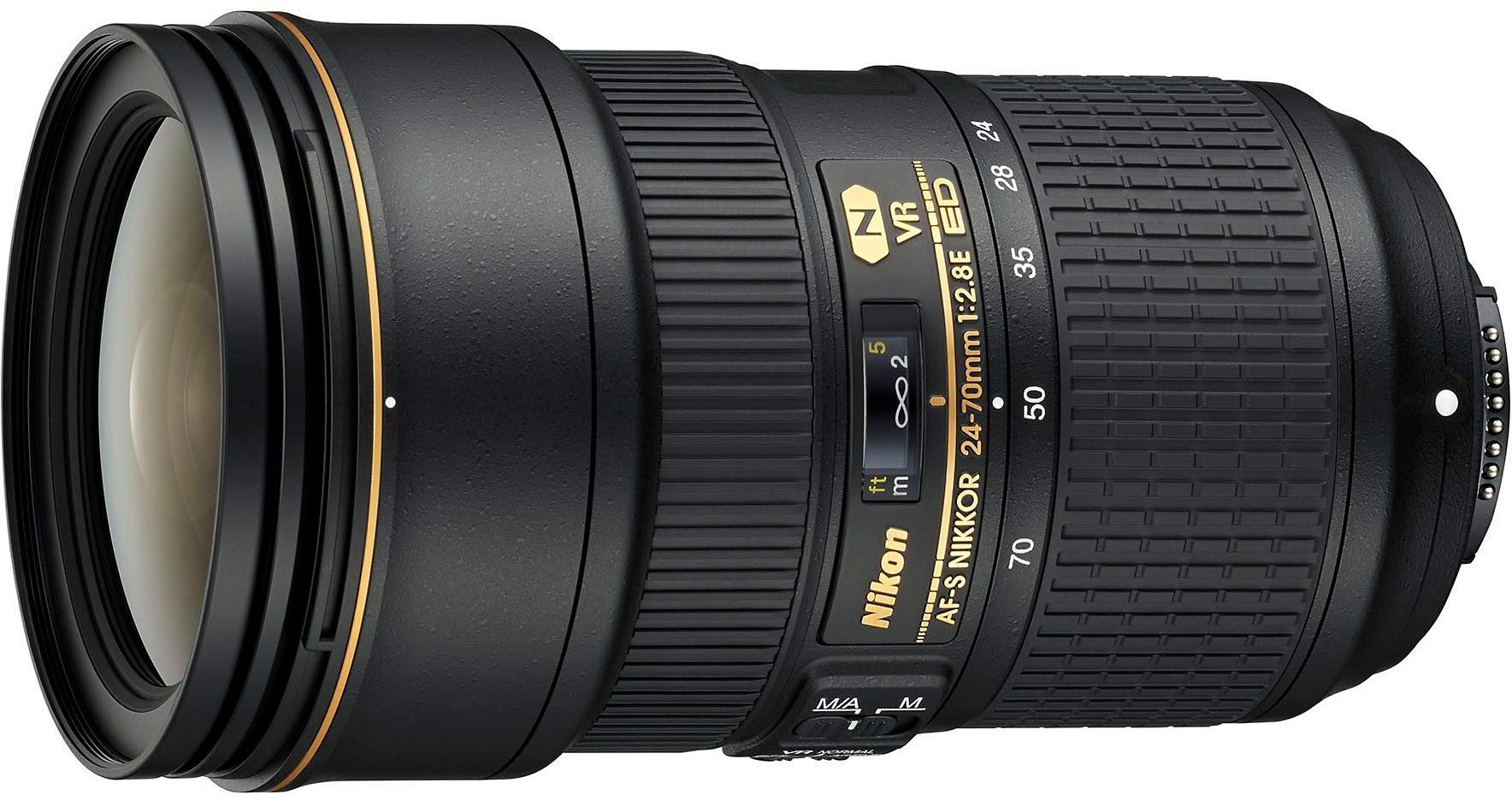 Nikon AF-S NIKKOR 24-70mm 1:2.8E ED VR Standardzoom Objektiv