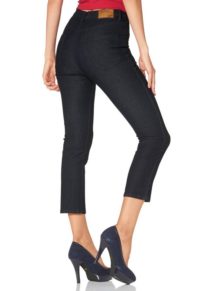 Arizona 7/8-Jeans »Shaping« High Waist in rinsed