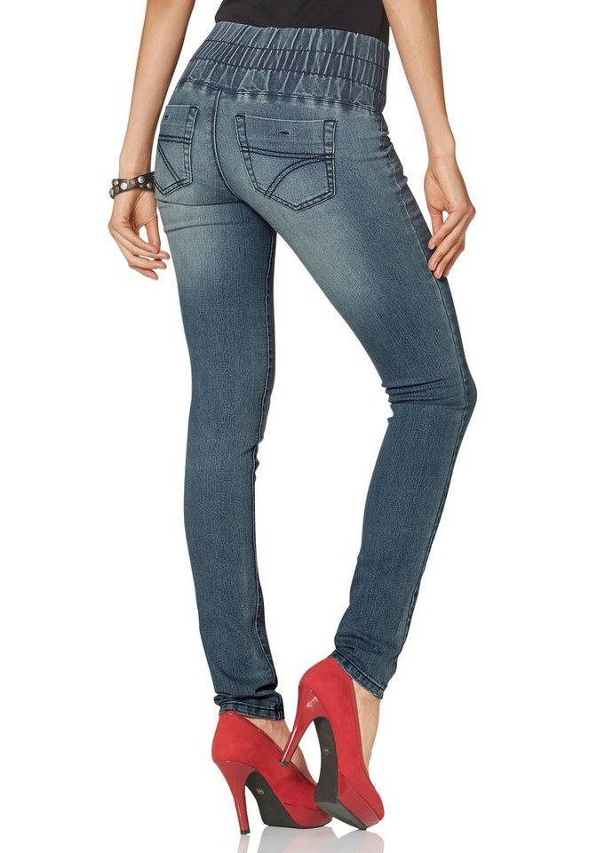 Arizona Skinny-fit-Jeans...