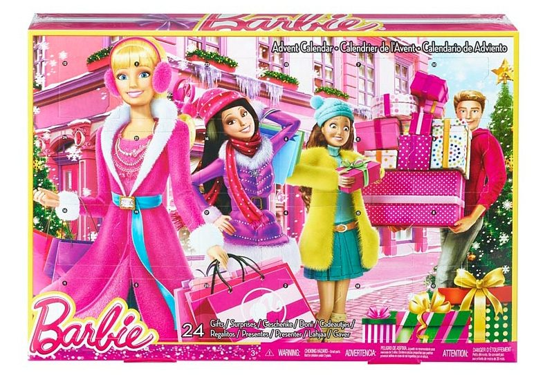 Mattel, Adventskalender, »Barbie«