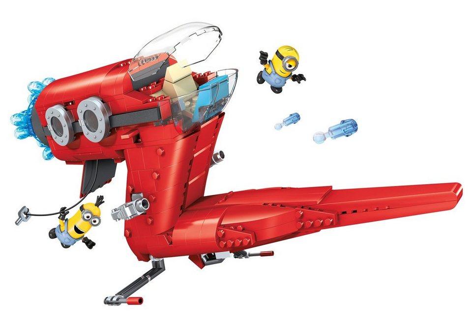 Mattel Spiel-Set, »Mega Bloks Minions Movie Large Playset« 472 Teile