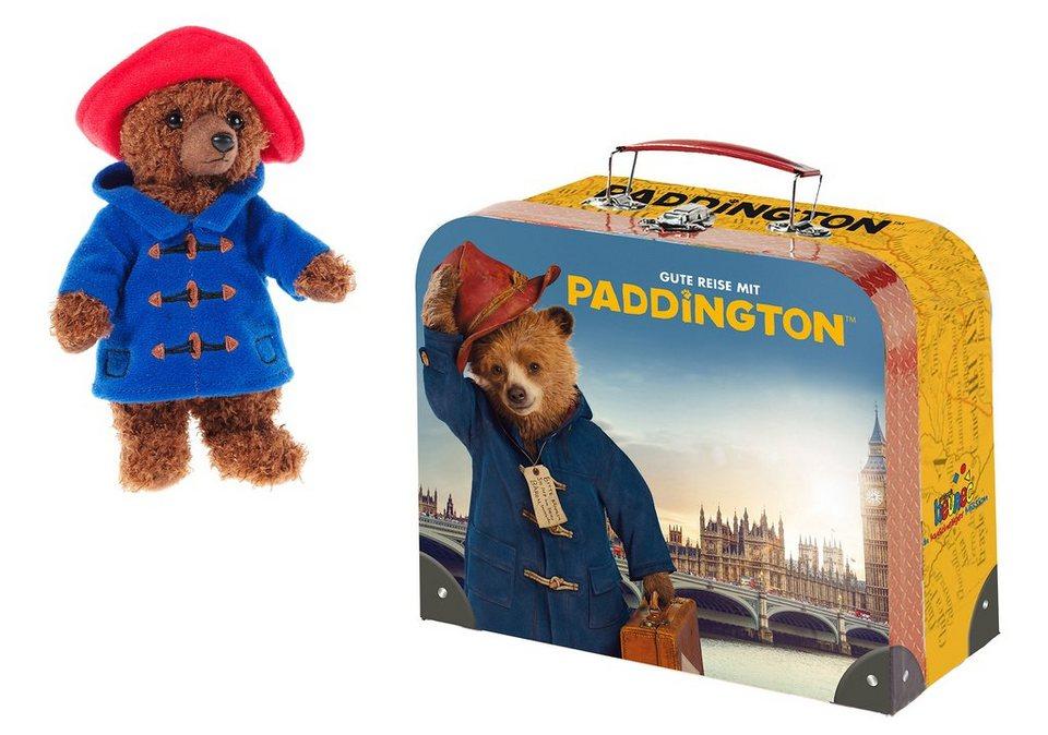 Heunec Set: Teddybär u. Kinder Koffer »Paddington Bär«