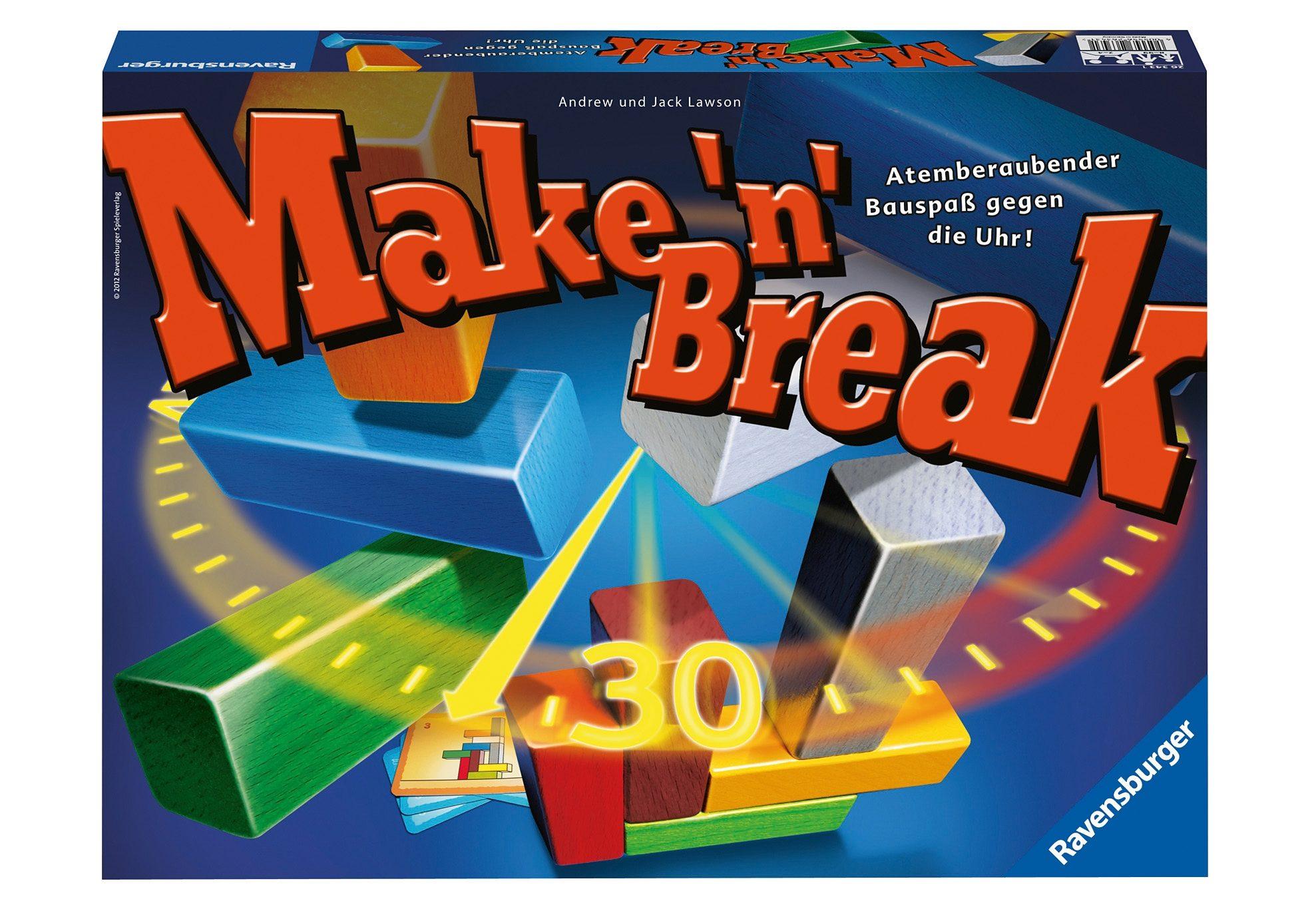 Ravensburger Gesellschaftsspiel, »Make 'n' Break«