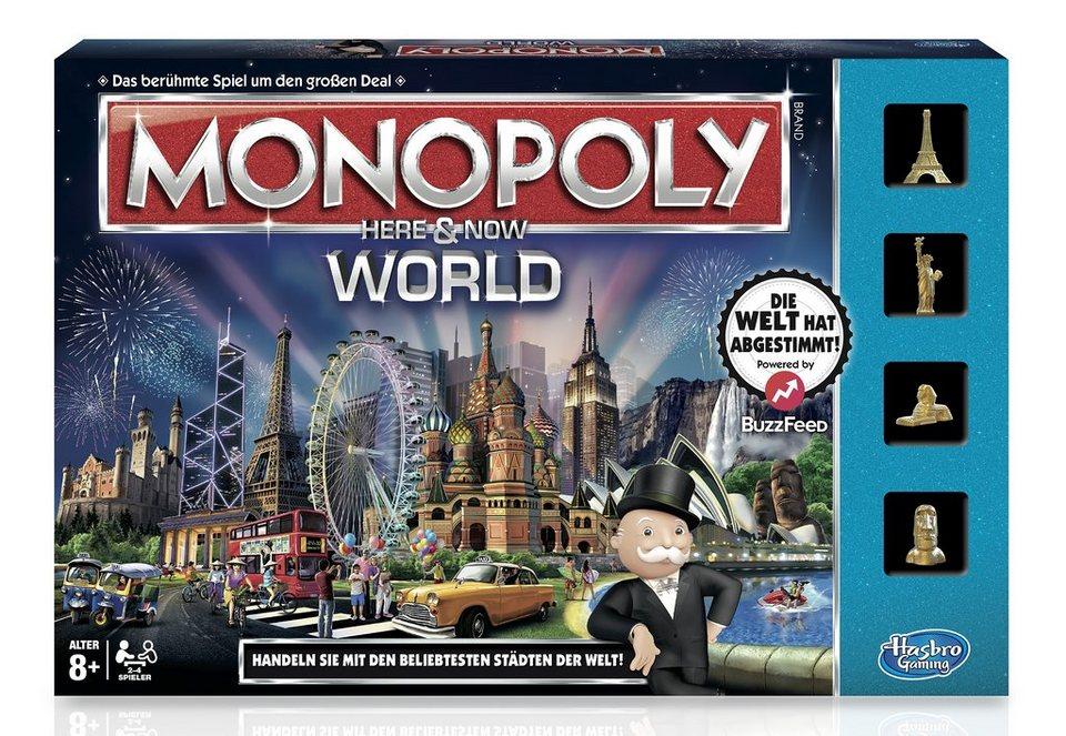 Hasbro Brettspiel, »Monopoly World«