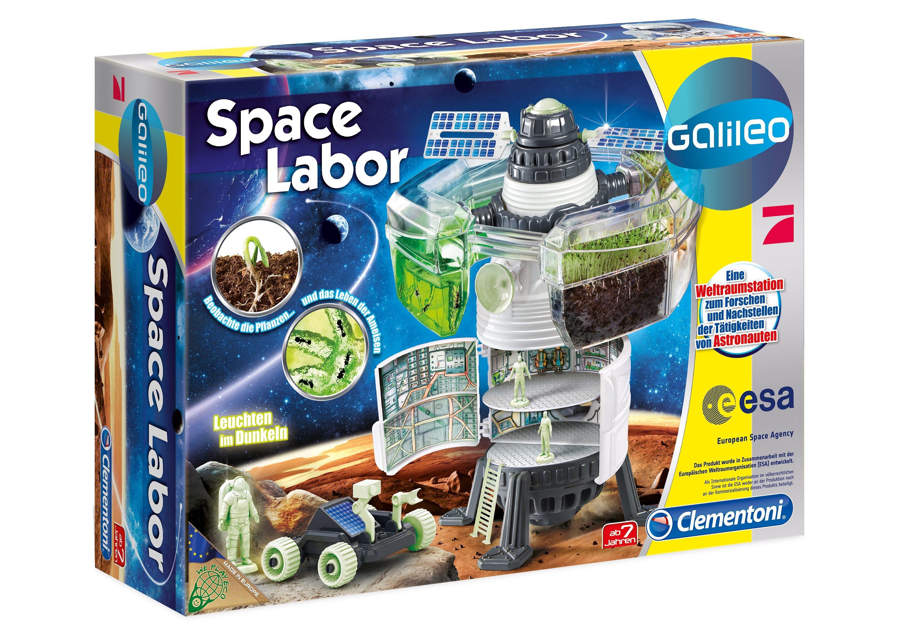 Clementoni Experimentier-Set, »Space Labor«