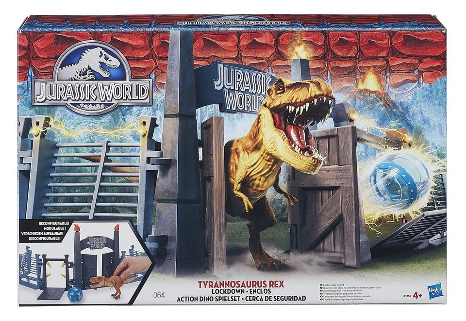 Hasbro Dinosaurier Spiel-Set, »Jurassic World - Action Dino«