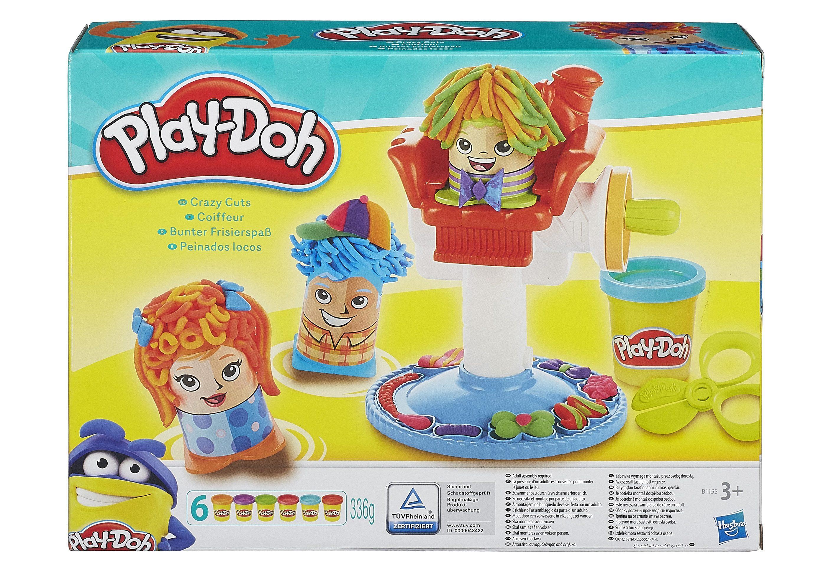 Hasbro Knete, »Play-Doh Bunter Frisierspaß«