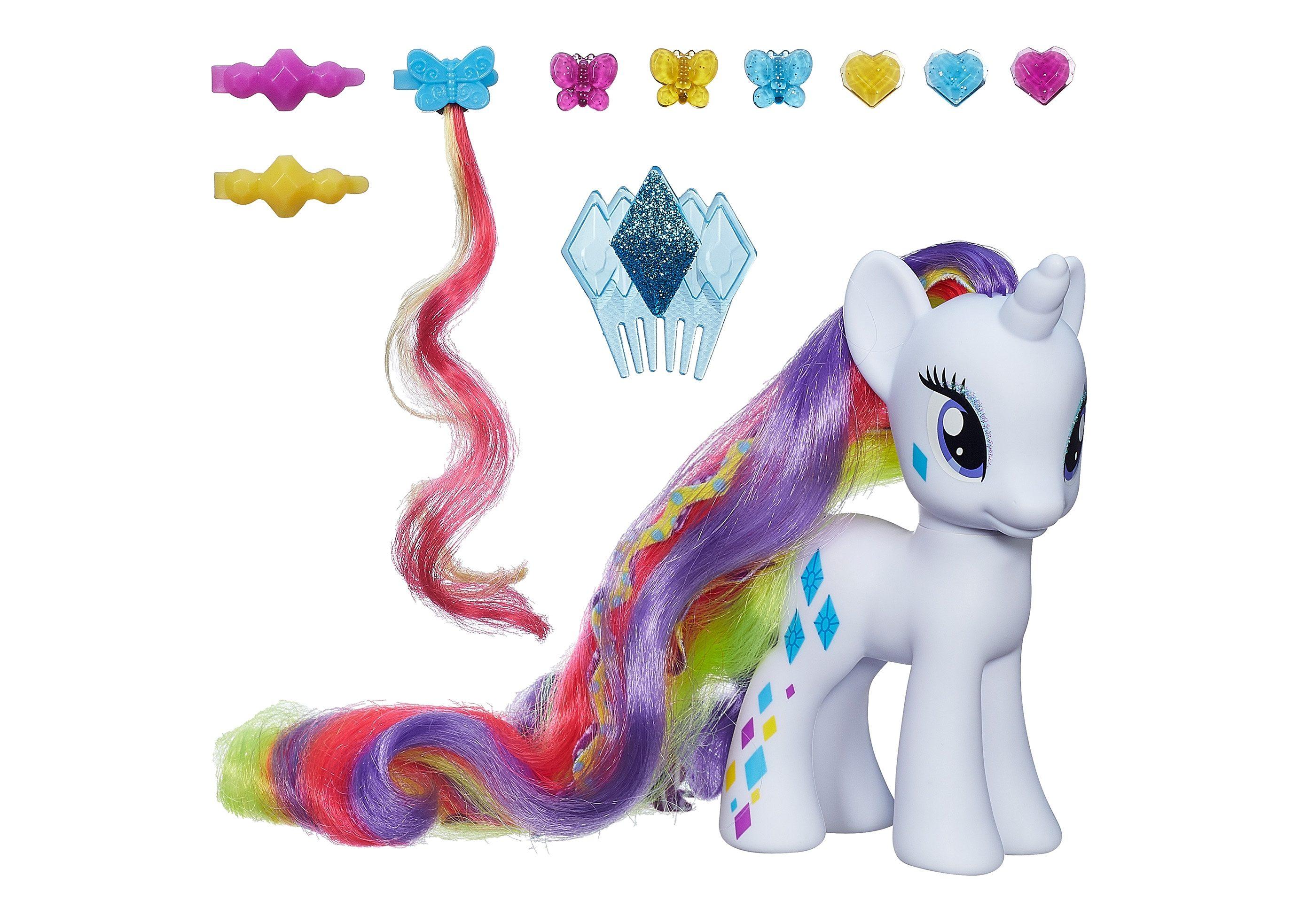 Hasbro Pony mit extralangem Haar, »My little Pony - Deluxe Modepony Rarity«