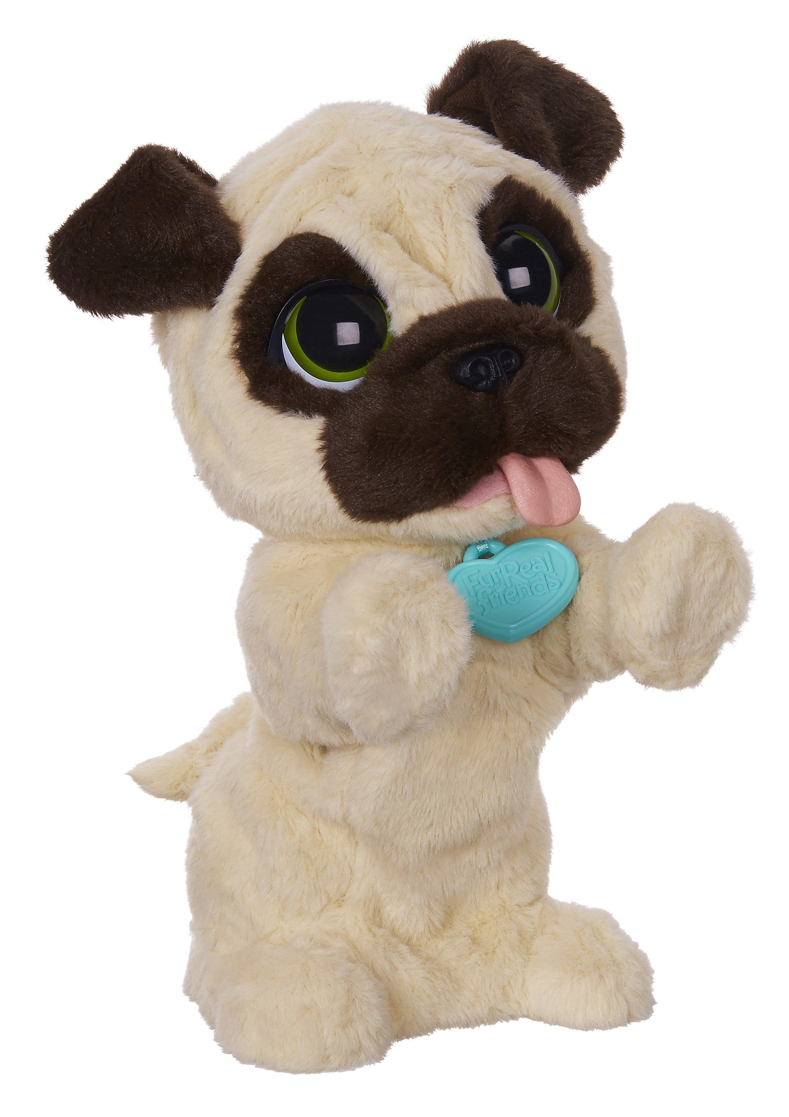 Hasbro Plüschtier FurReal Friends, »JJ mein hopsender Mops«