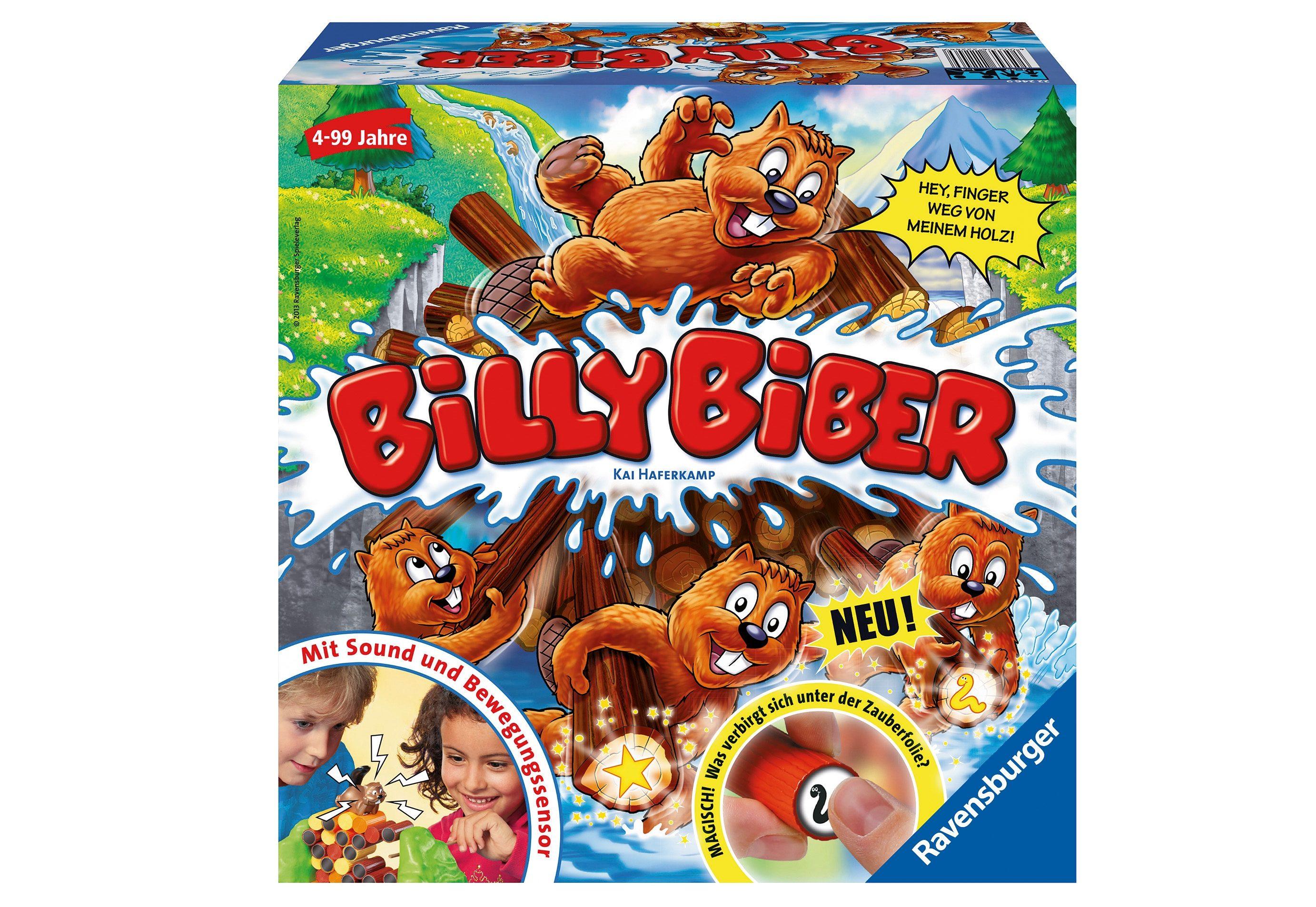Ravensburger Gesellschaftsspiel, »Billy Biber«