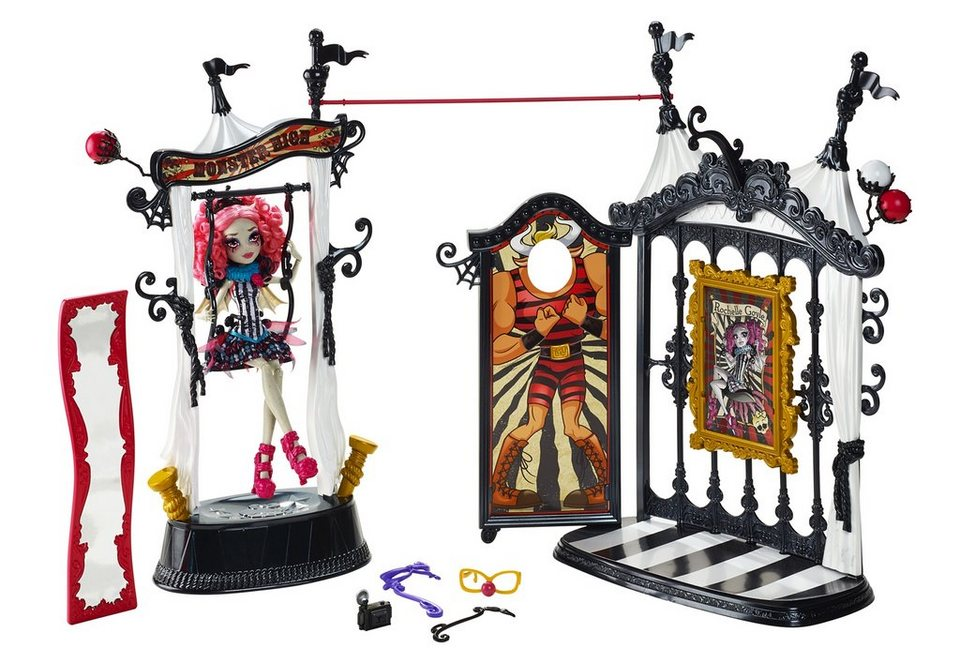 Mattel Spiel-Set, »Monster High -Schaurig schöne Show - Rochelle Goyle & Monster Manege«