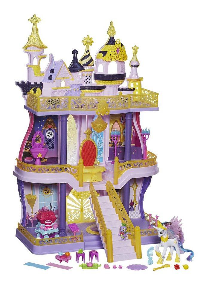 Hasbro Schloss + Gratiszugabe: 1Pony, »My little Pony - Magisches Schloss + Glitzer Prinzessin«