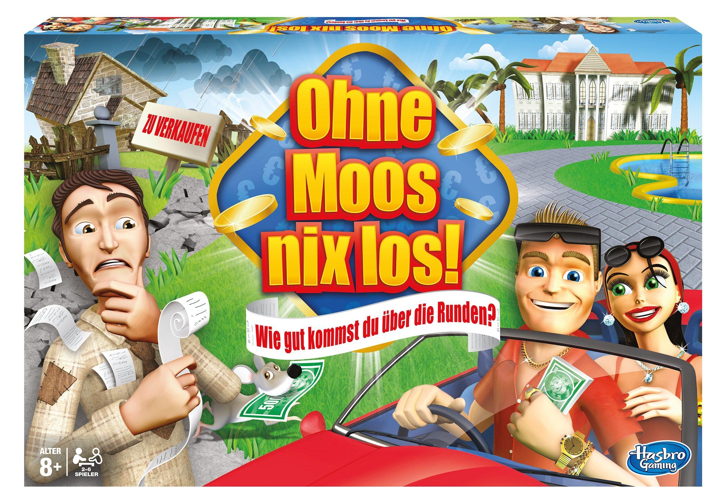 Hasbro Brettspiel, »Ohne Moos nix los«