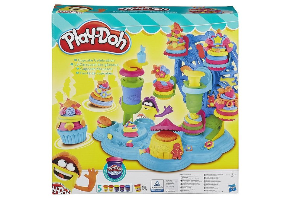 Hasbro Knete-Set, »Play-Doh Cupcake-Karussell«