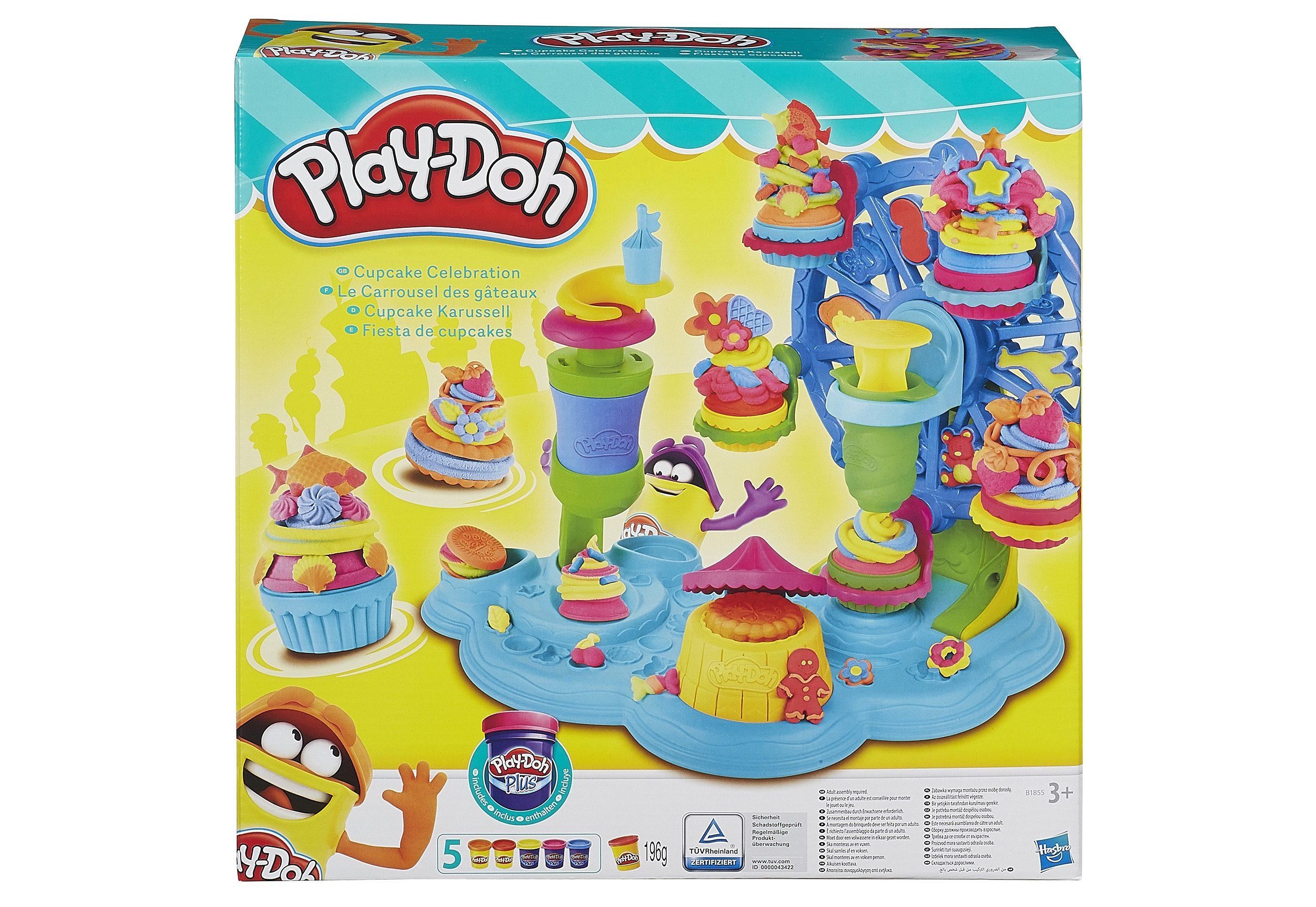 Hasbro Knete-Set, »Play-Doh Cupcake-Karussell«