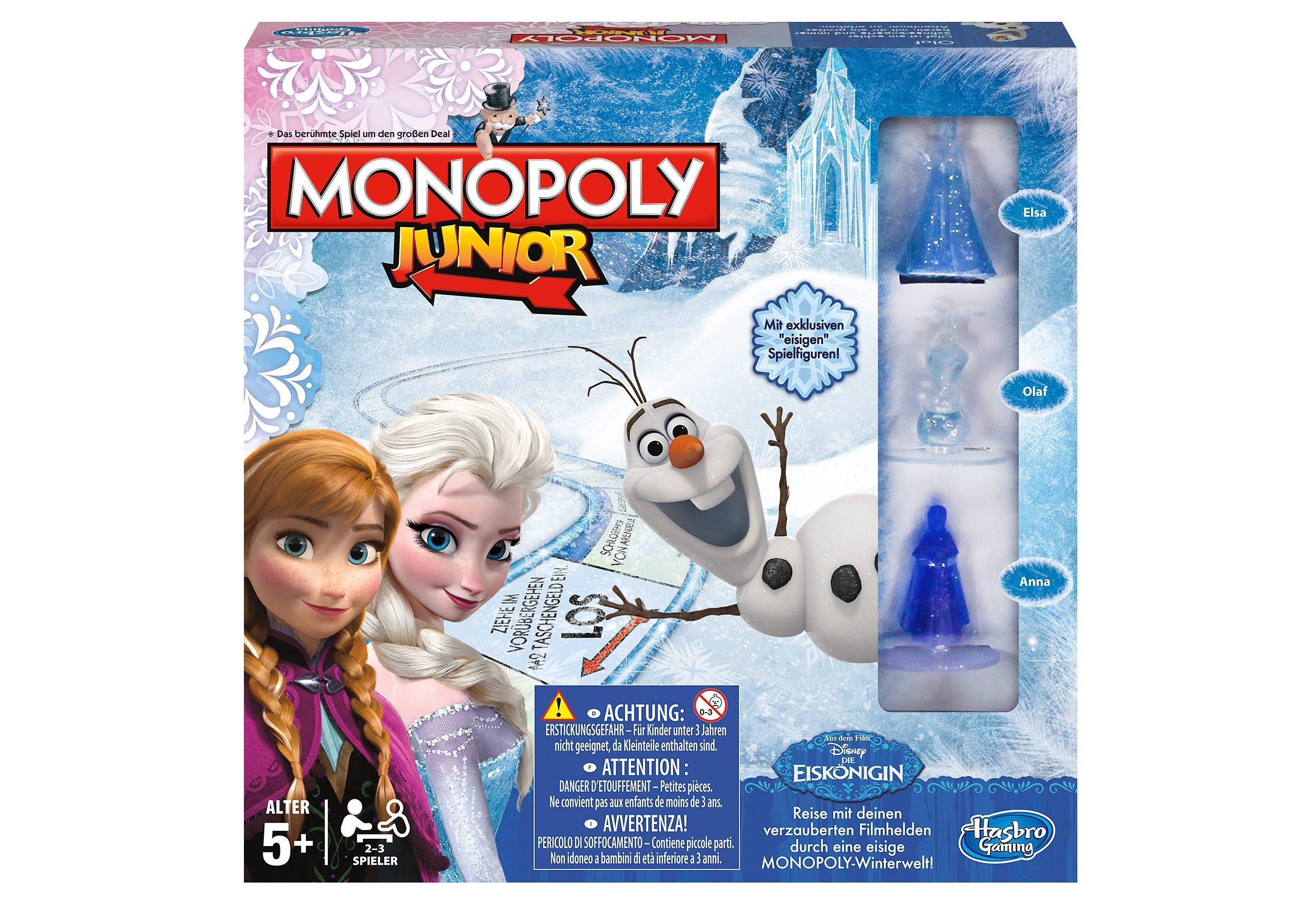 Hasbro Kinderspiel, »Monopoly Junior - Disney`s Die Eiskönigin«